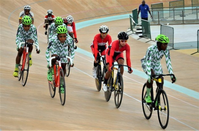 Team Nigeria Top Table With 21 Gold Medals At Africa Cup Track Cycling