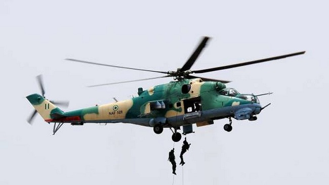 Nigerian Air Force Conducts Joint Combat Search, Rescue Exercise Along Kaduna-Abuja Highway