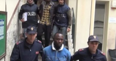The Nigerian Mafia Gang In Italy Code Named 'MAPHITE' Busted