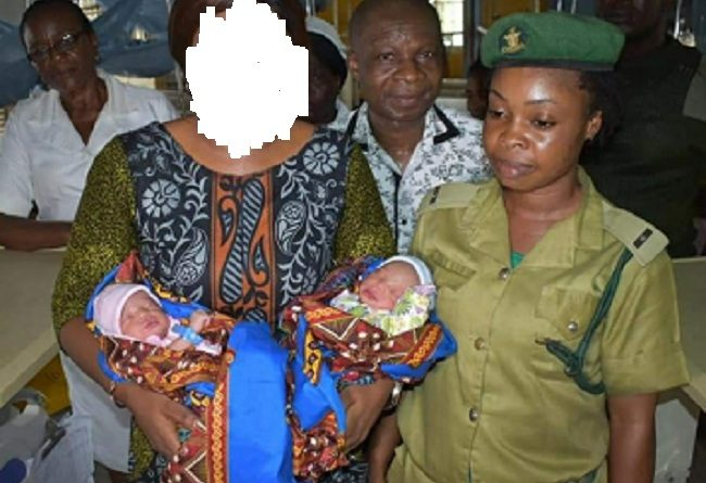 DOUBLE BLESSING:How I Got Pregnant In Prison, Delivers Twins, And Receive N1m from Gov Ayade