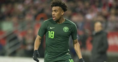 3rd Place Great Achievement For Young Eagles – Iwobi