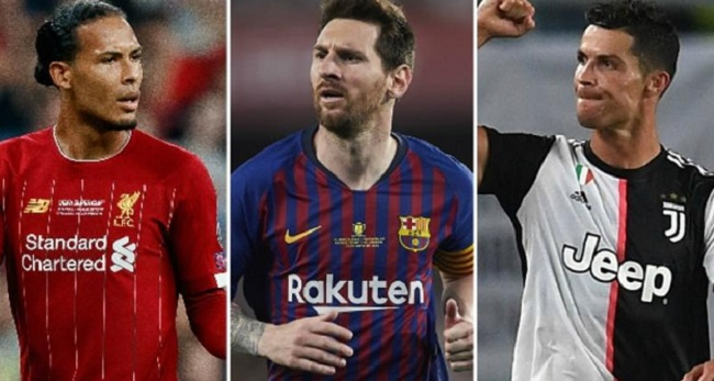Van Dijk, Lionel Messi And Cristiano Ronaldo - Who Will Be Named Europe's Best Player?