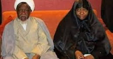 Finaly El-Zakzaky, Wife Depart Abuja For Medical Treatment In India