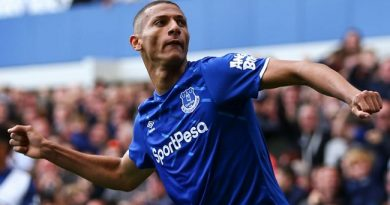 Everton 3-2 Wolves: Richarlison Nets Twice To Seal Toffees Win