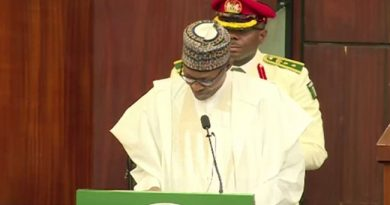 #Budget2020: I Have A Cold Because I Am Working Hard, Buhari Tells Lawmakers