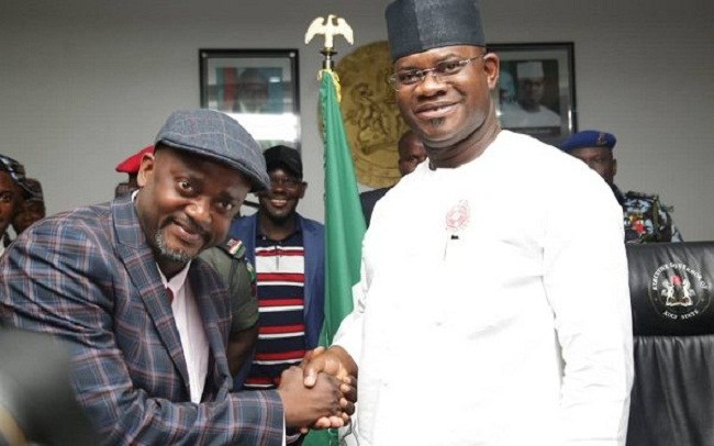 Edward Onoja Sworn-in As Kogi Deputy Governor