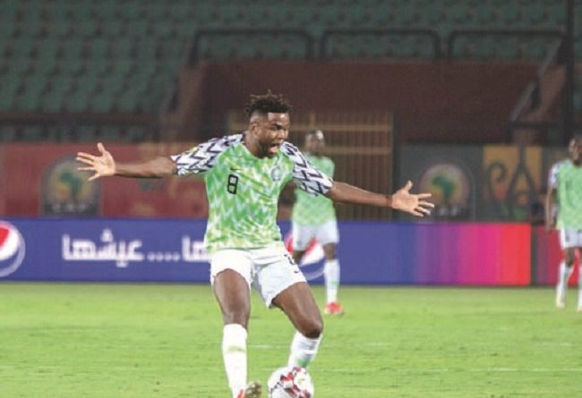 Okwonkwo Relishes Nigeria's First Goal After 1,207-Day Drought