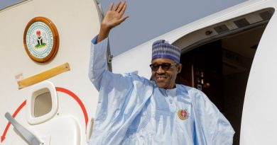 Buhari Jets Out To Egypt For Peace And Development Forum