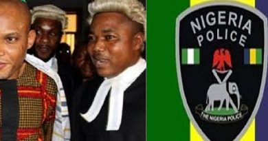 Police Declare Kanu's Lawyer Wanted Over Death Of Cops