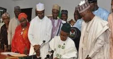 El-Rufai Signs 2020 Budget Into Law, Swears In Three New Commissioners