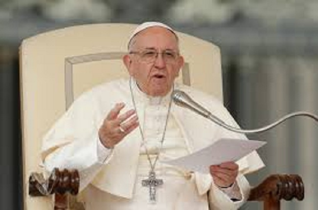 Just In: Pope Warns Against Vaccine Priority For Rich