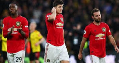 Manchester United Slammed After 'Embarrassing' Burnley Defeat In The English Premier League