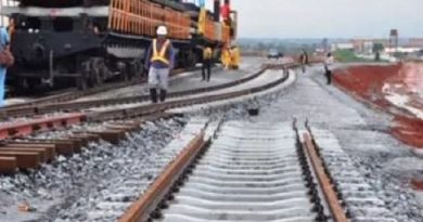 Lagos Closes Road For Railway Project
