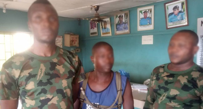 Three Fake Military Officers Arrested In Ogun