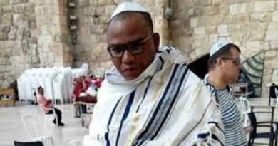 Just In: Nnamdi Kanu Arrives In Jerusalem Offers Prayers For Biafrans All Over The World Against Coronavirus