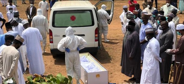 COVID-19 LOCKDOWN: FG Is Spreading The Virus By Not Observing Social Distancing At Abba Kyari's Burial Site