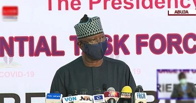 Social Distancing: Anyone Found Without A Face Mask Will Be Prosecuted – FG