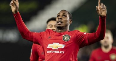Just In: Ighalo Must Not Go, Hargreaves Tells Manchester United