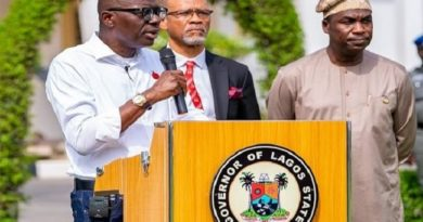Just In: Lagos Restaurants To Operate Eat-In Services At 50 Per Cent Capacity – Sanwo-Olu