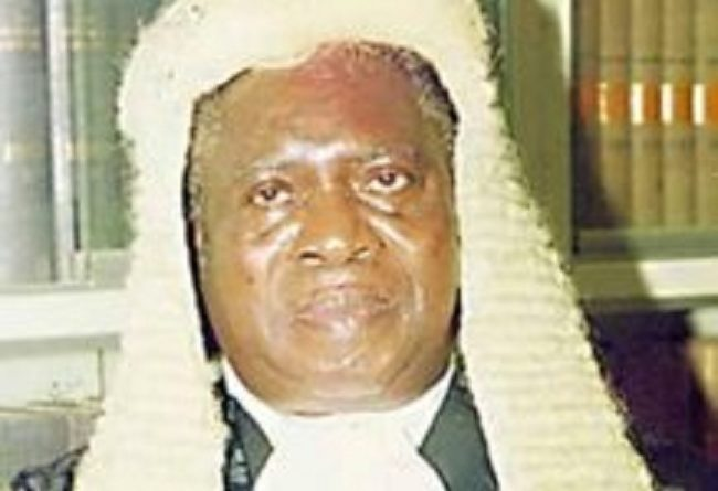 Tribute To Honourable Justice Adolphus Godwin Karibi-Whyte, CON, DSSRS, JSC (Rtd)