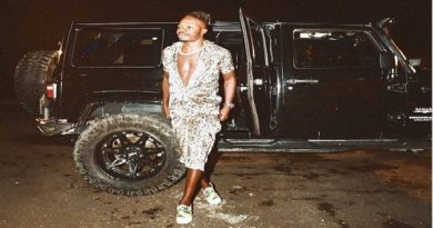 Just In: Naira Marley, Steps Out In Style From A Jeep Wrangler Sahara Unlimited (PHOTO)