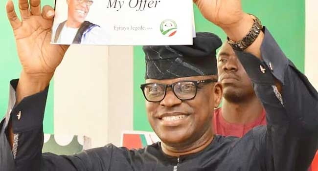 Eyitayo Jegede Wins Ondo PDP Primary Ticket