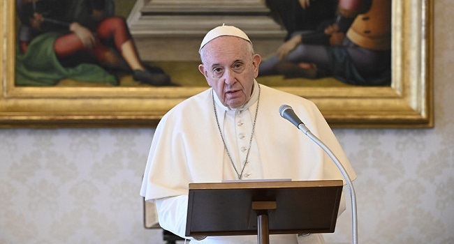 Pope So Sad Over Turkey's Church Conversion To Mosque (See Details)