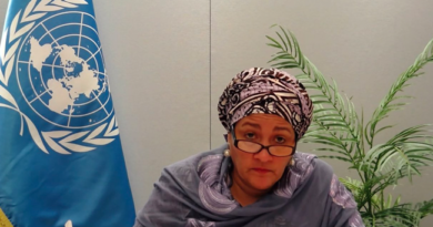Just In: We Must All Stand Together And Speak Out Against Gender Violence, Says Amina Mohammed