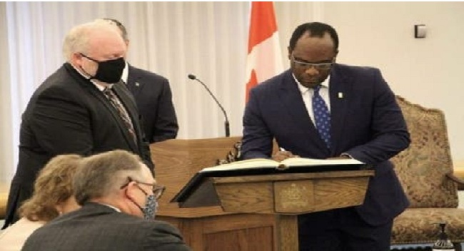 Breaking: Igbo Man, Kelechi Madu Appointed Minister Of Justice In Canada