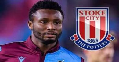 Former Chelsea Legend Mikel John Obi Returns To English Football With Stoke City
