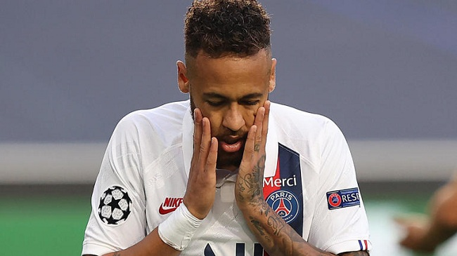 Neymar Had 'Hat Trick' Of Misses In PSG's Vs Atalanta First Half Champions League Semi Finals