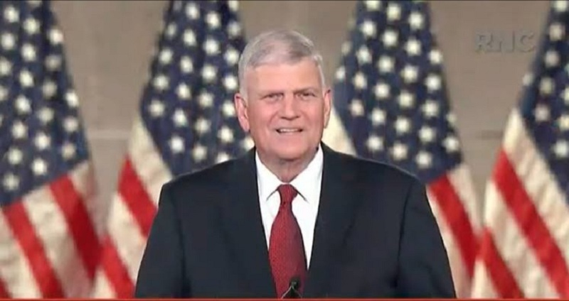 Nnamdi Kanu, American Evangelist, Franklin Graham Attends The USA National Prayer Summit In Washington D.C Ahead of Biafra Restoration