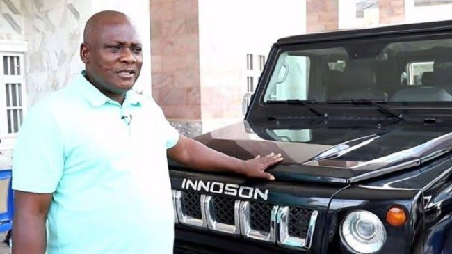 #BBNAIJA: Innoson Motors Unveils Car To Be Won By A Housemate In Today's Task (Photos)