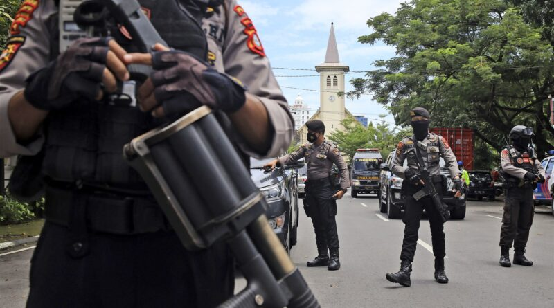 Suicide Bomber Kill Self And Injured 14 During Palm Sunday Mass