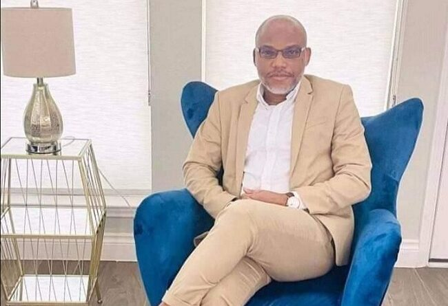 The Leader of the Indigenous People of Biafra, Mazi Nnamdi Kanu has said that APC led federal government is afraid of what is coming next month.